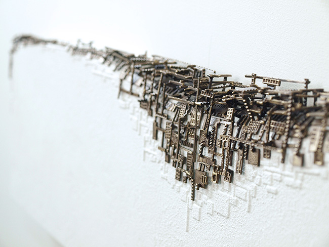 3331 GALLERY ♯028 3331 ART FAIR recommended artists 久野彩子 「侵蝕」