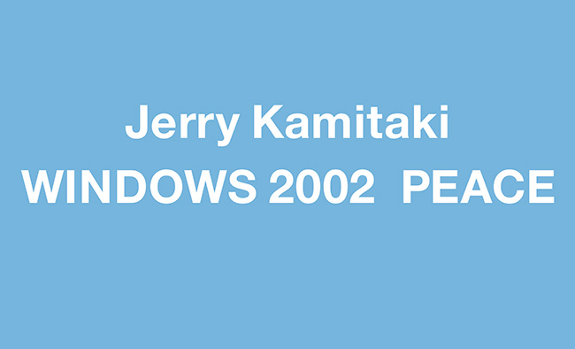 WINDOWS 2002  PEACE