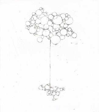 contact #3 dessin de l'air