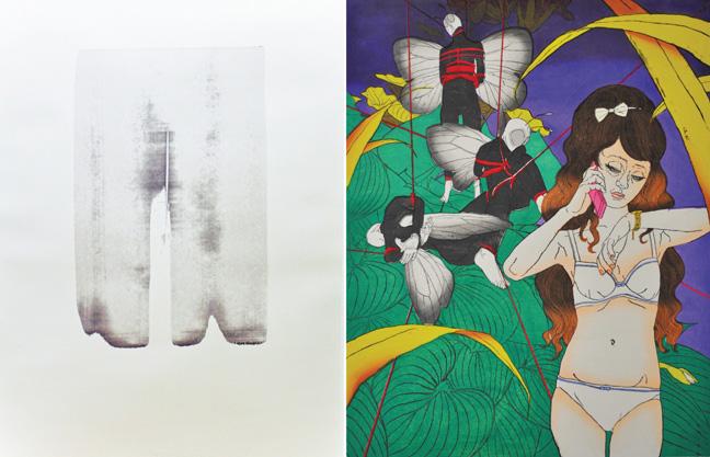 New Print Artists 2011 − 小林つばさ/長谷川可奈