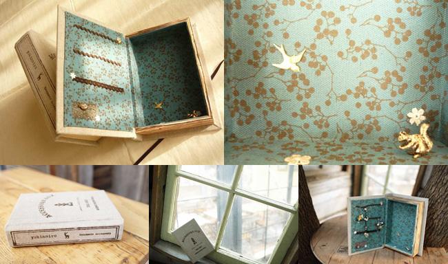 yukinoiroの本型アクセサリーボックスを作ろう