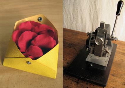 一枚革で作る名刺・カード入れ