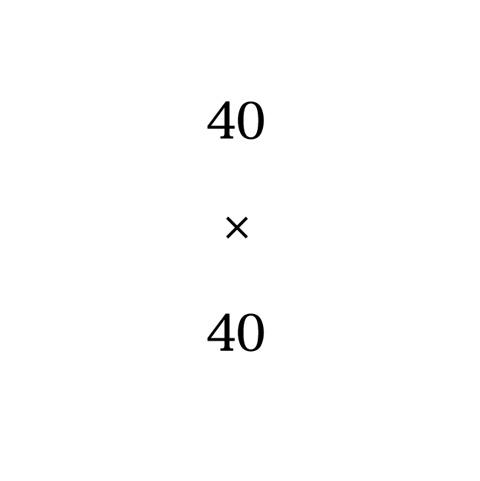 アキバタマビ21 第17回展覧会「 40×40 」