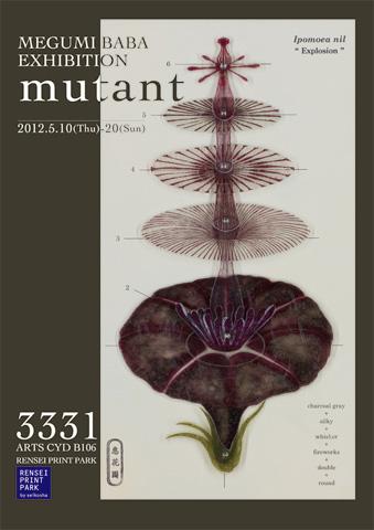 「mutant」MEGUMI BABA EXHIBITION