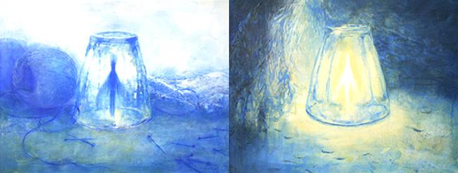 水野朋子個展「グラスの妖精」
