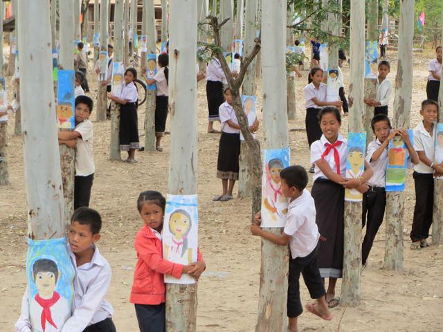 一般財団法人民際センター主催『ポントゥン村美術部プロジェクト展』 photo by NAOTO DATE