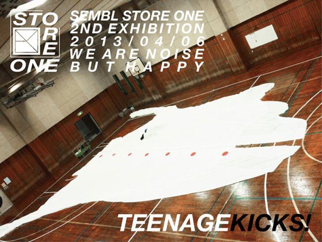 3331GALLERY関連ワークショップ「TEENAGE KICKS!」
