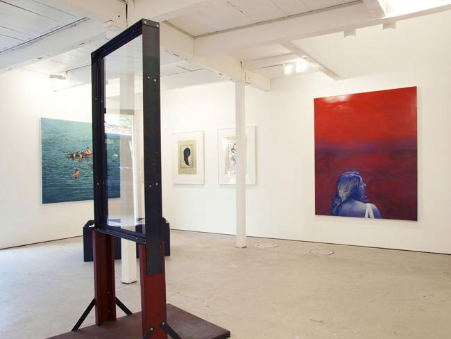 交叉面:絵画とその周辺 -垂直に競り上がった海面-