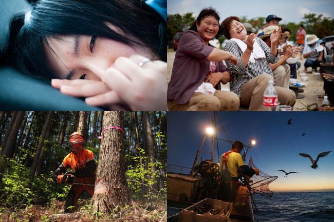 『3.11 映画祭』 スライドショー写真展示