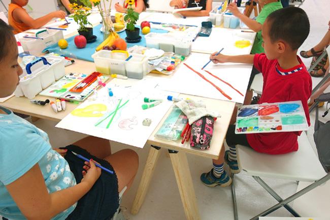 夏の3331こども芸術学校2016 『絵画教室(水彩)』