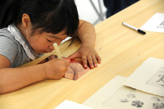 夏の3331こども芸術学校2016 『版画教室』