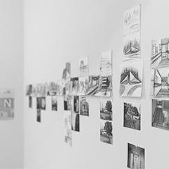 [AIR 3331] ダレン・オヘル 滞在制作成果発表展 『記録描画』