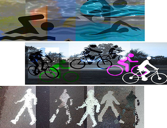 ART walk - bike - swim